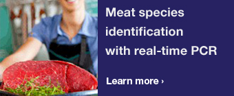 Meat species identification with real-time PCR